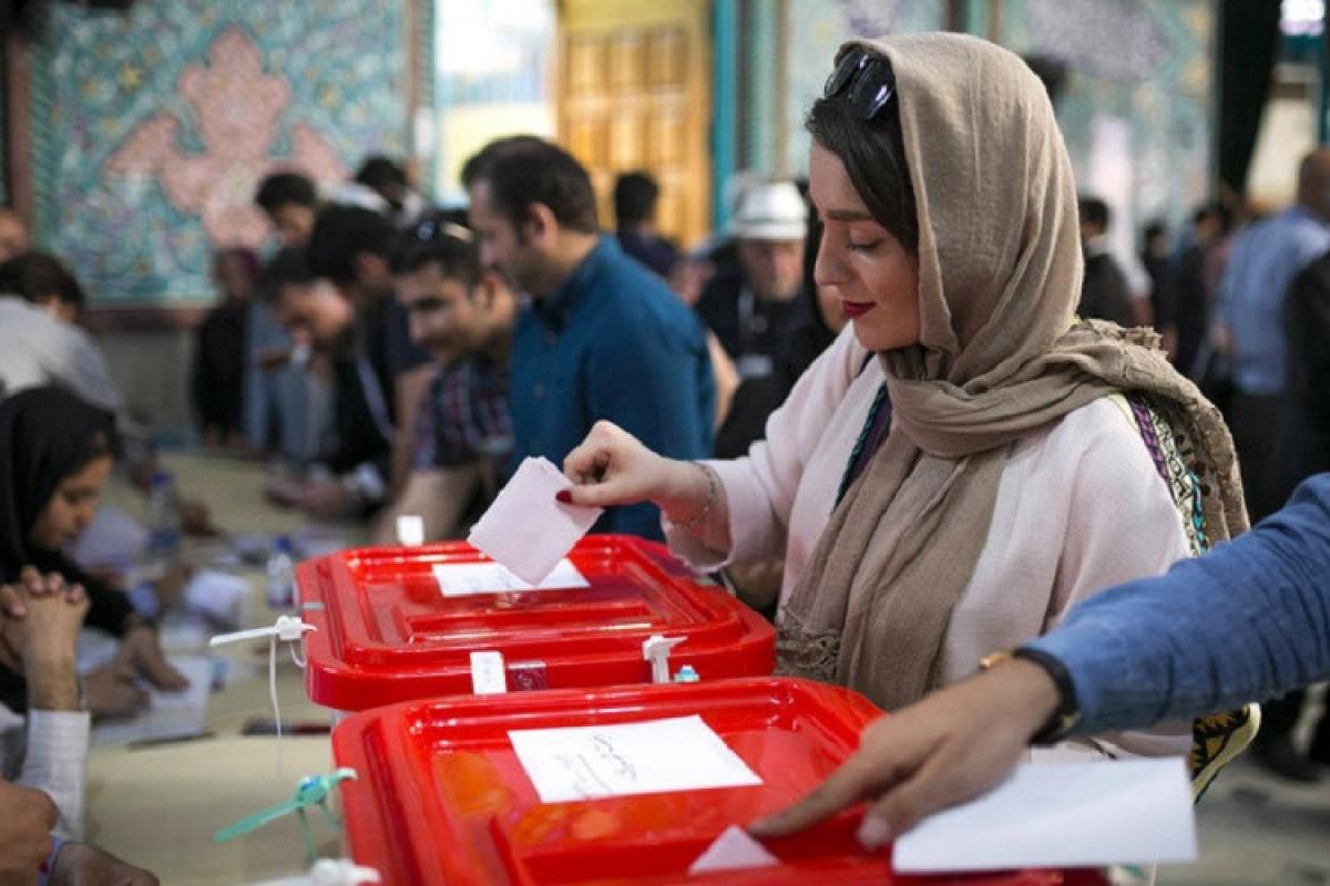İranda prezident seçkilərində 28,4 mln. insan səs verib