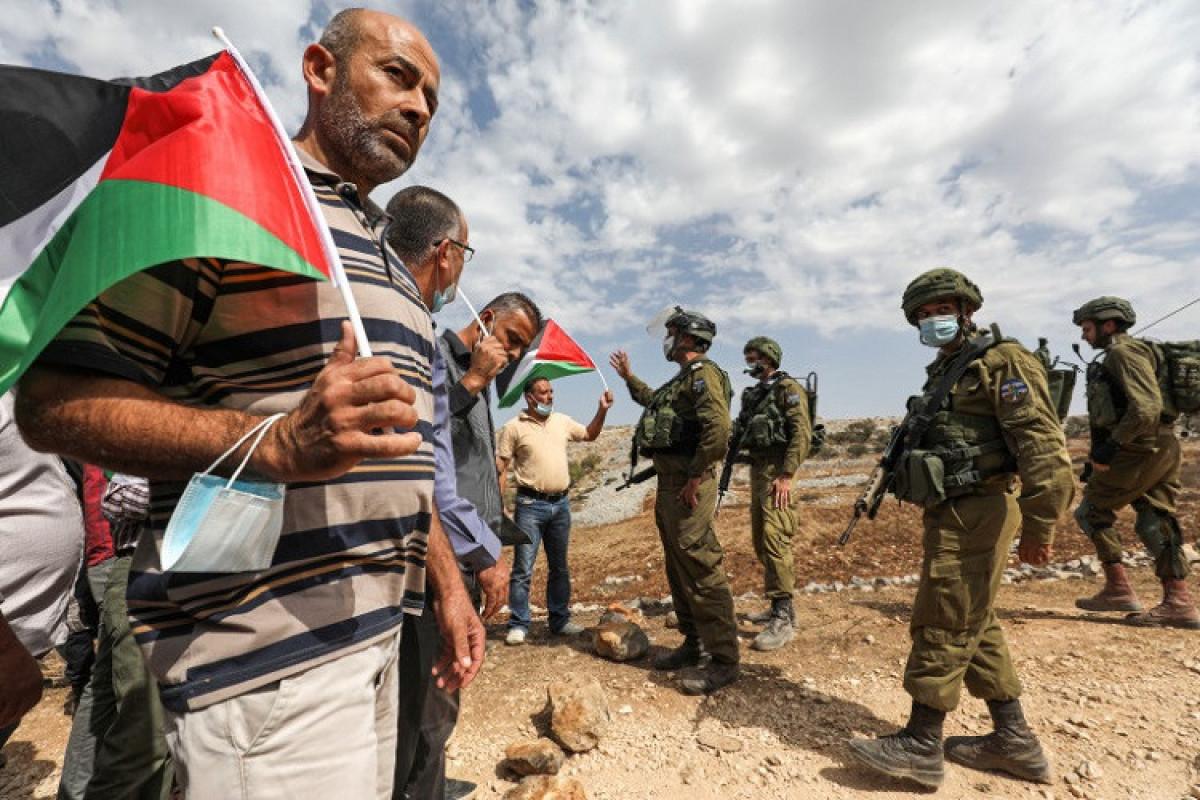 İsrail polisi ilə toqquşmalarda 380-dən çox fələstinli yaralanıb