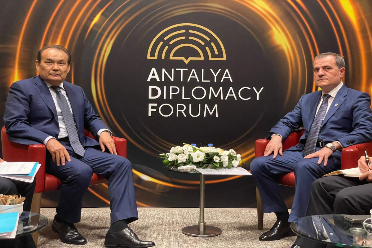 Глава МИД Азербайджана встретился с генеральным секретарем Тюркского совета