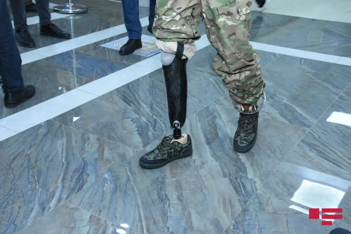 66 qazi yüksək texnologiyalı protezlərlə təmin edilib