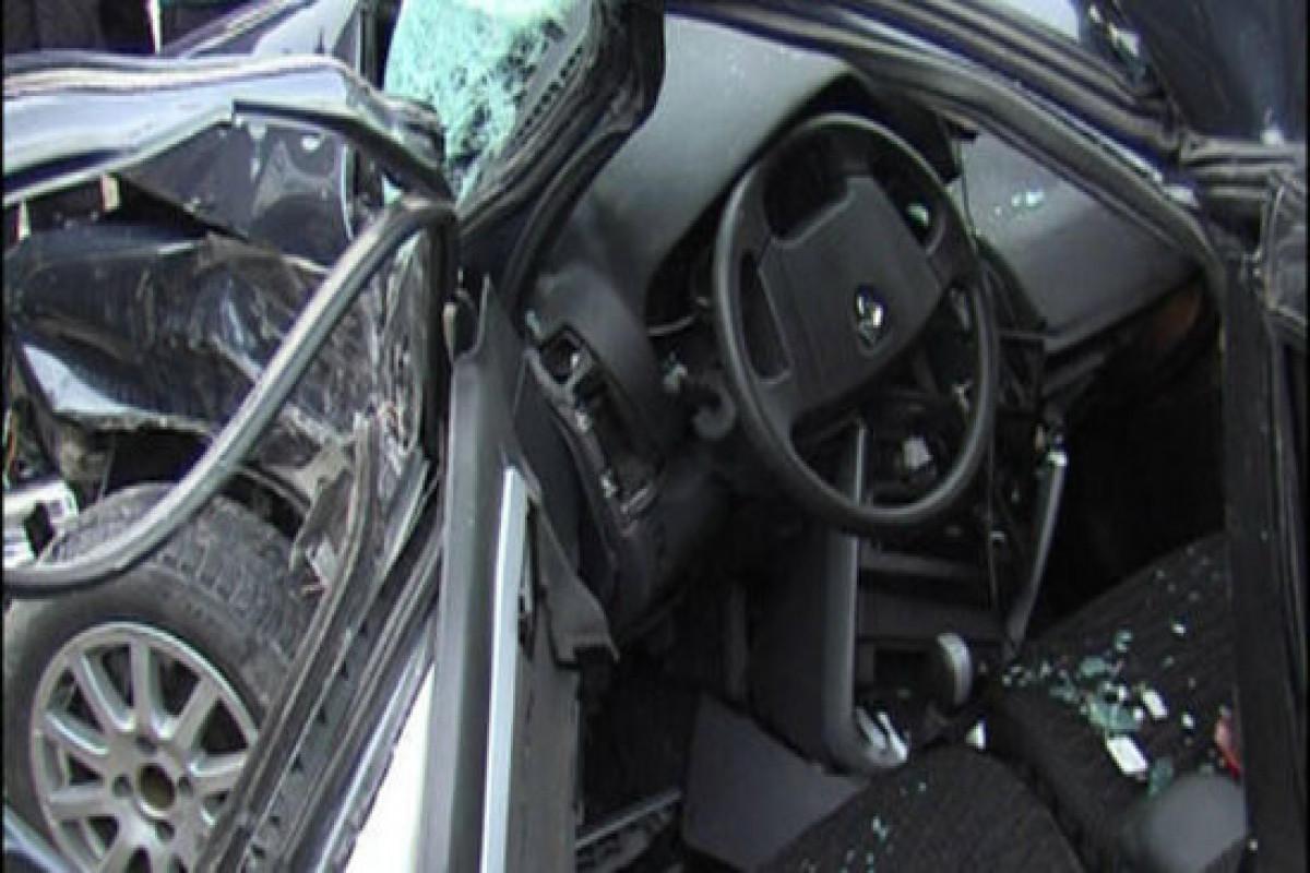 В Физули столкнулись 3 автомобиля, 2 человека погибли, 6 получили травмы