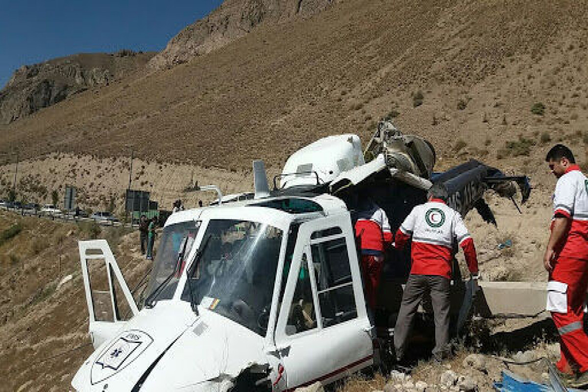 """Crash of a helicopter carrying ballot boxes in southwestern Iran-<span class=""""red_color"""">UPDATED</span>"""