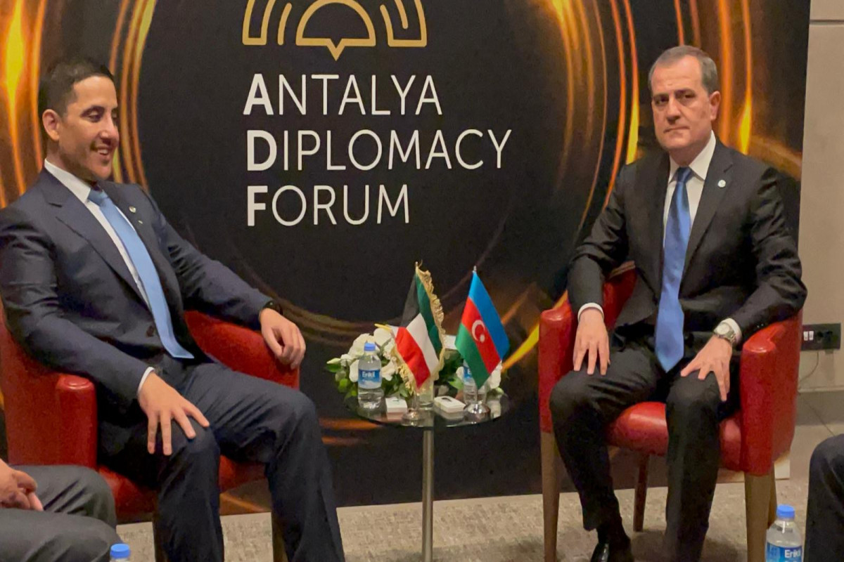 Джейхун Байрамов встретился с министром иностранных дел Кувейта