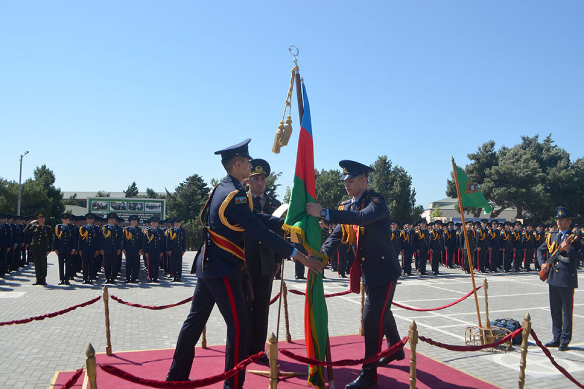 Another graduation ceremony of cadets held at the Military Lyceum named after Jamshid Nakhchivanski