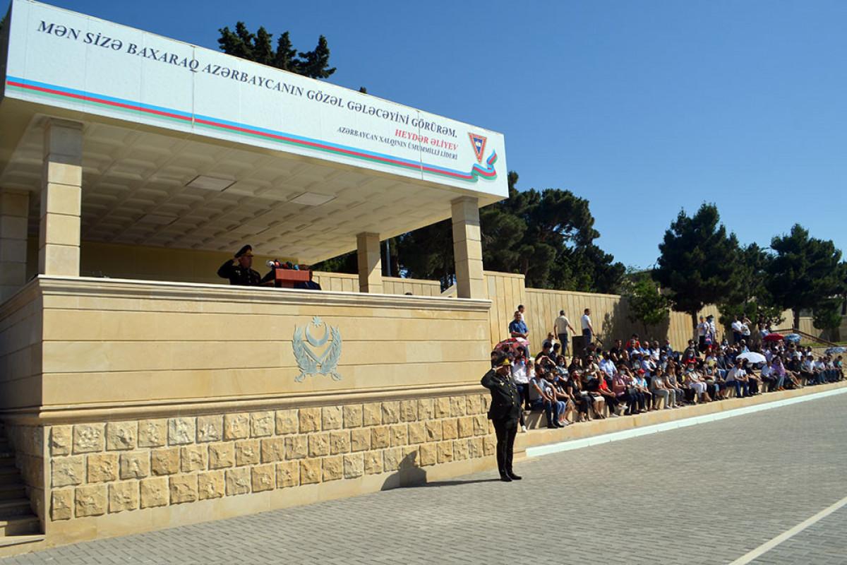 В Военном лицее имени Джамшида Нахчыванского состоялась очередная церемония выпуска курсантов