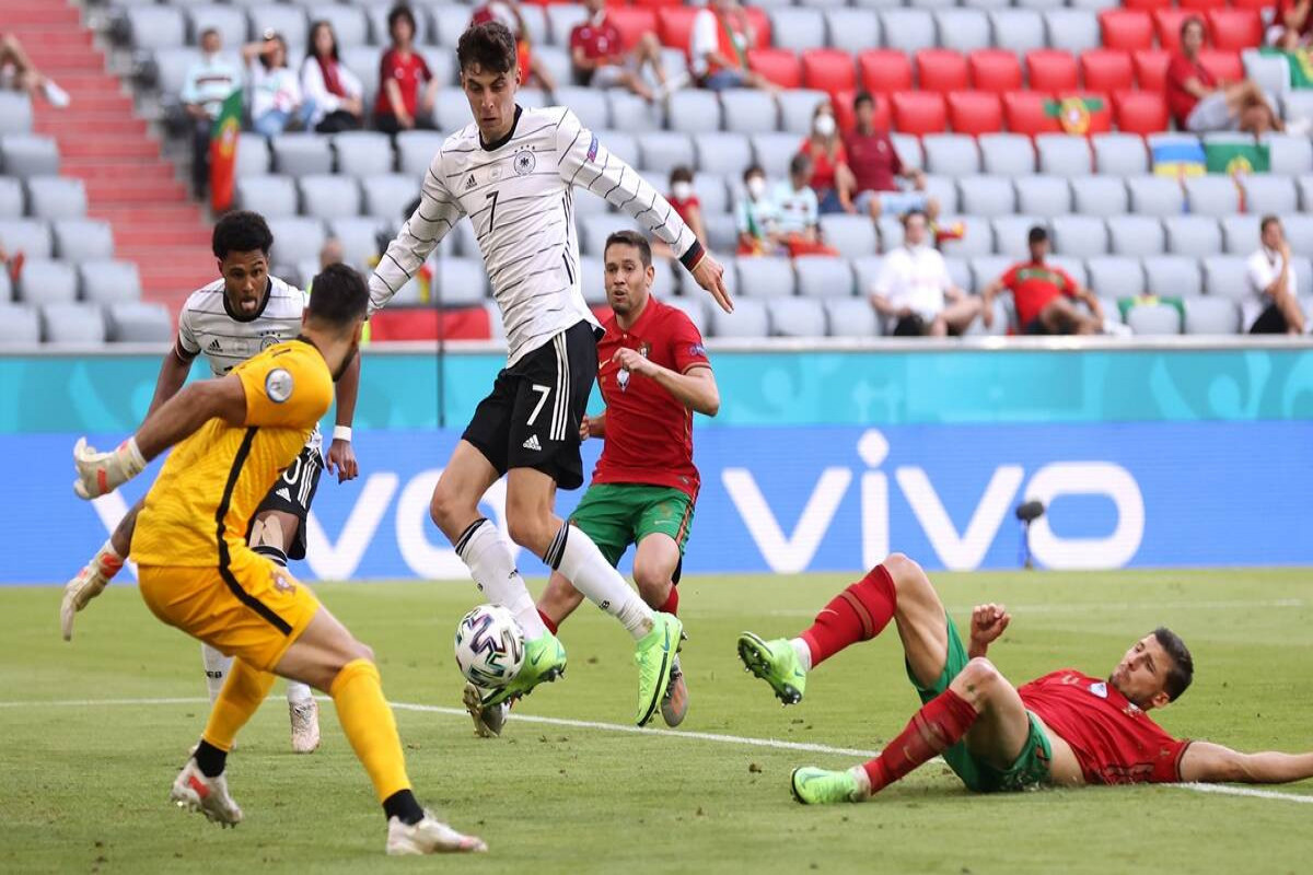 """<span class=""""red_color""""> Euro 2020: </span> Germany bounce back with statement 4-2 win over holders Portugal"""