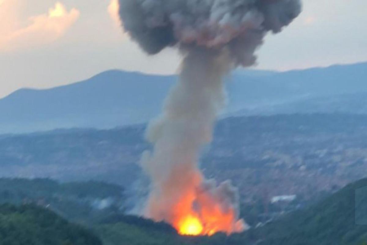 Hа военном предприятии в Сербии второй раз за месяц прогремели взрывы