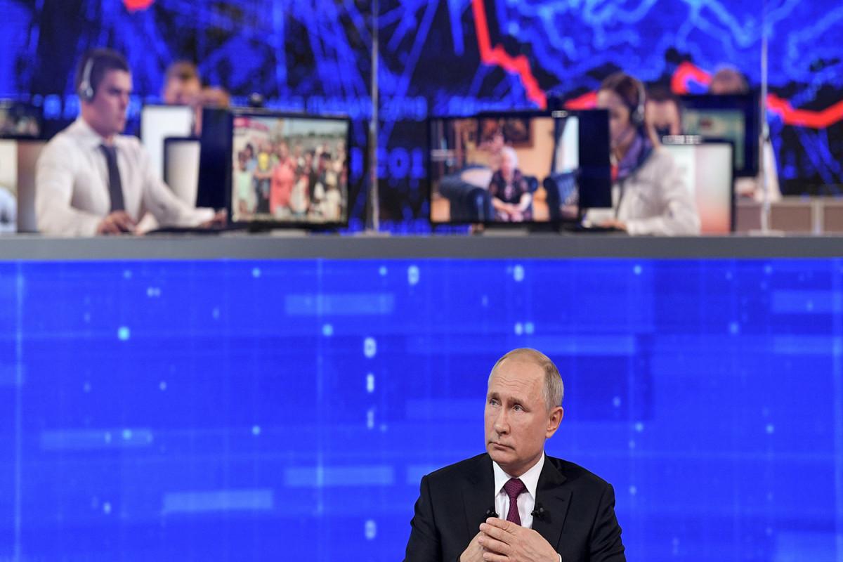 Прямая линия с Владимиром Путиным пройдет 30 июня