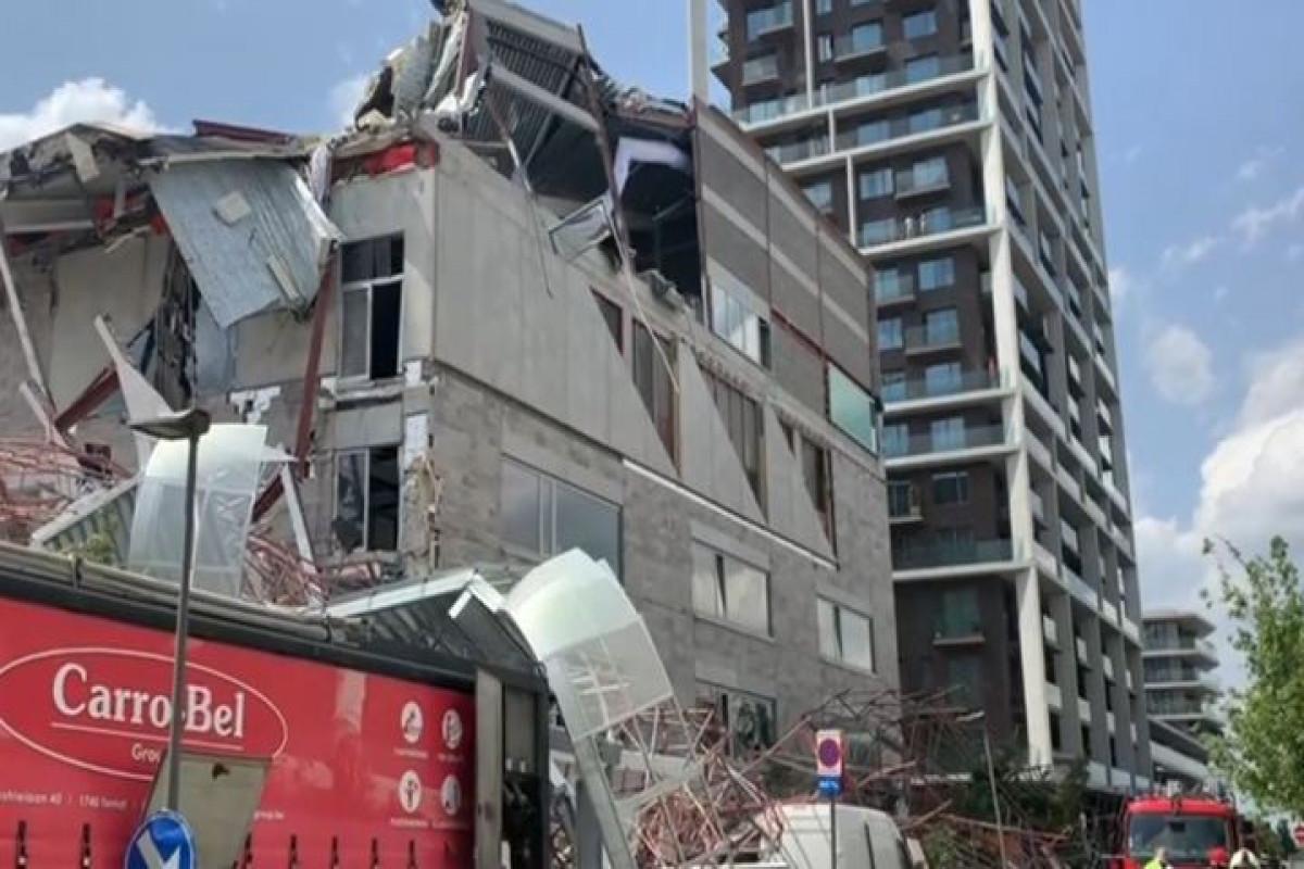 Belçikada məktəb binası çöküb, 5 nəfər ölüb, 9 nəfər yaralanıb