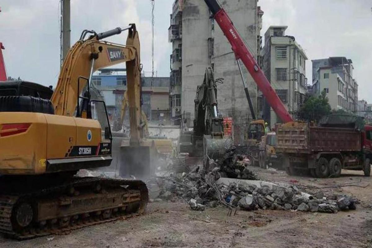 В Китае обрушился жилой дом, погибли 5 человек