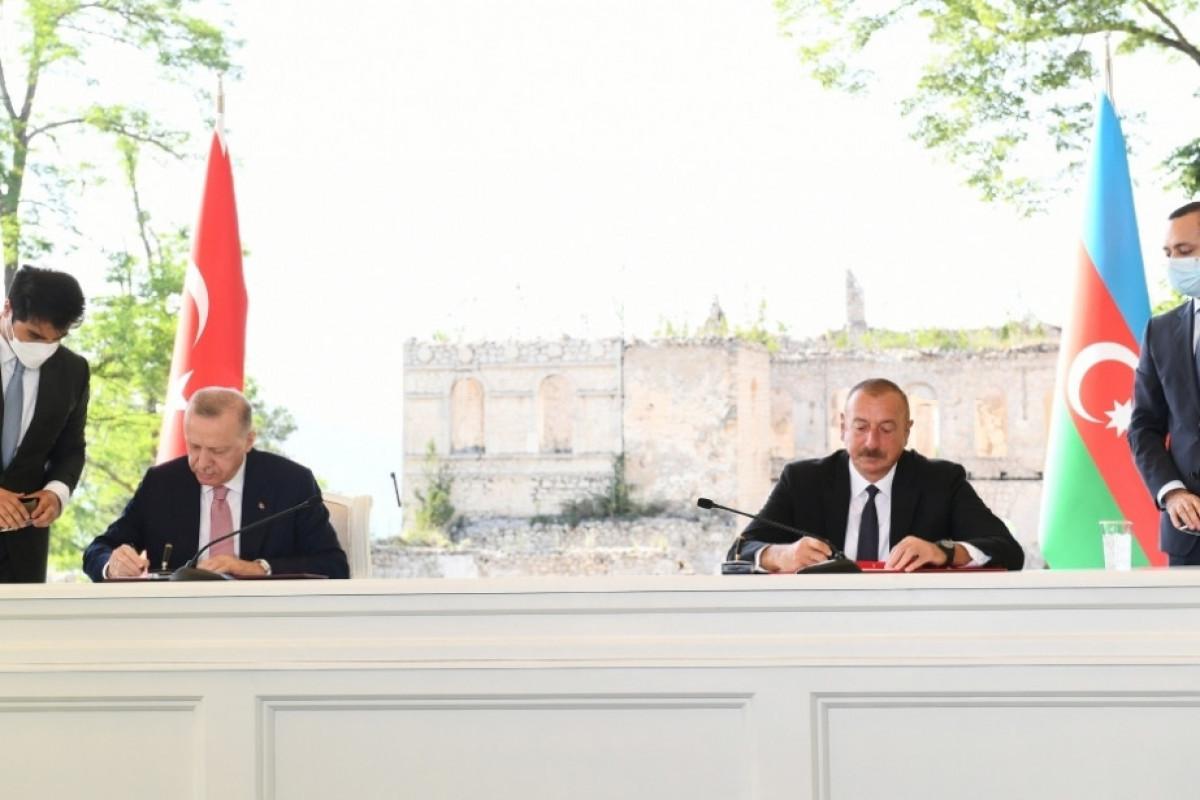 Diaspora organizations operating in Turkey issued an appeal regarding the Shusha Declaration
