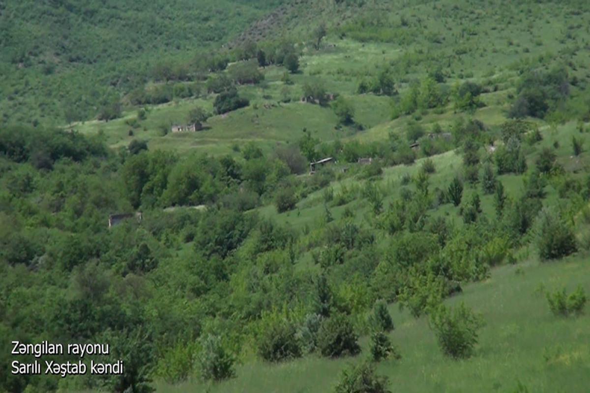 """Село Сарылы Хештаб Зангиланского района – <span class=""""red_color"""">ВИДЕО</span>"""