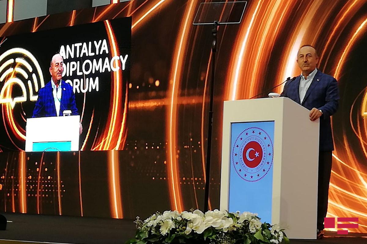 Чавушоглу: В Шуше наравне с флагом Азербайджана будет развеваться и флаг Турции