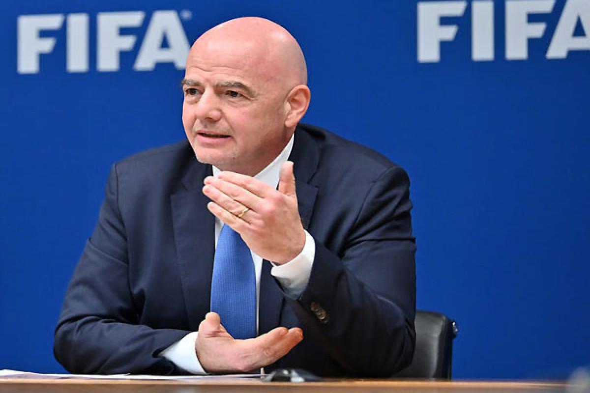 FIFA President arrives in Baku today