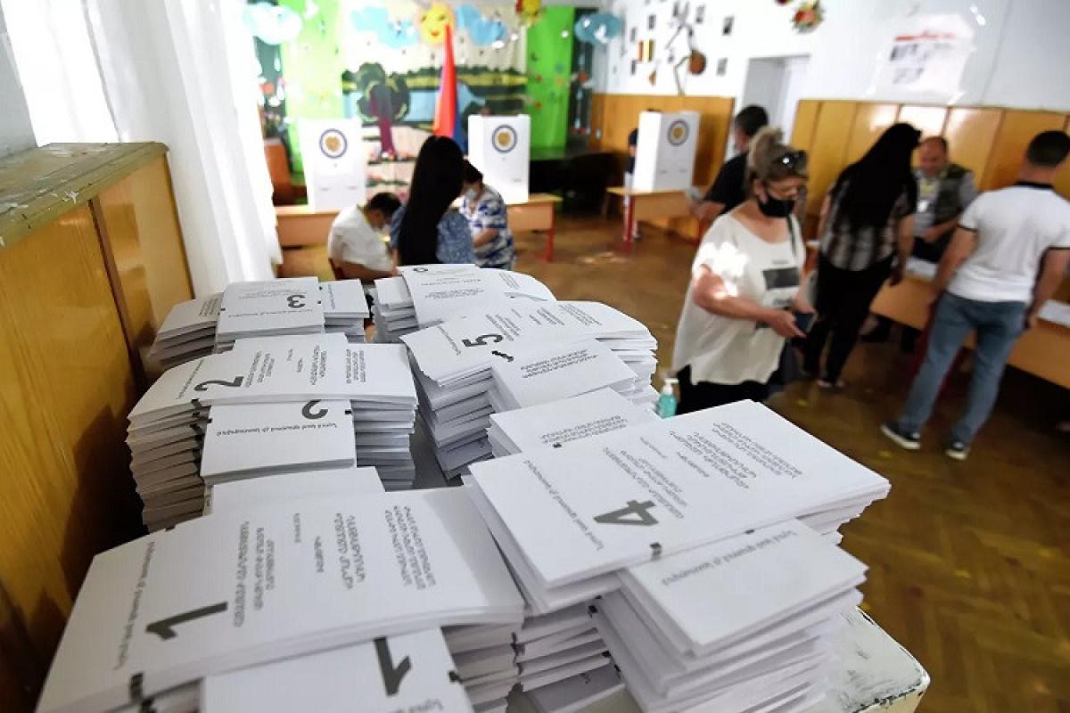 В Армении завершилось голосование на досрочных парламентских выборах