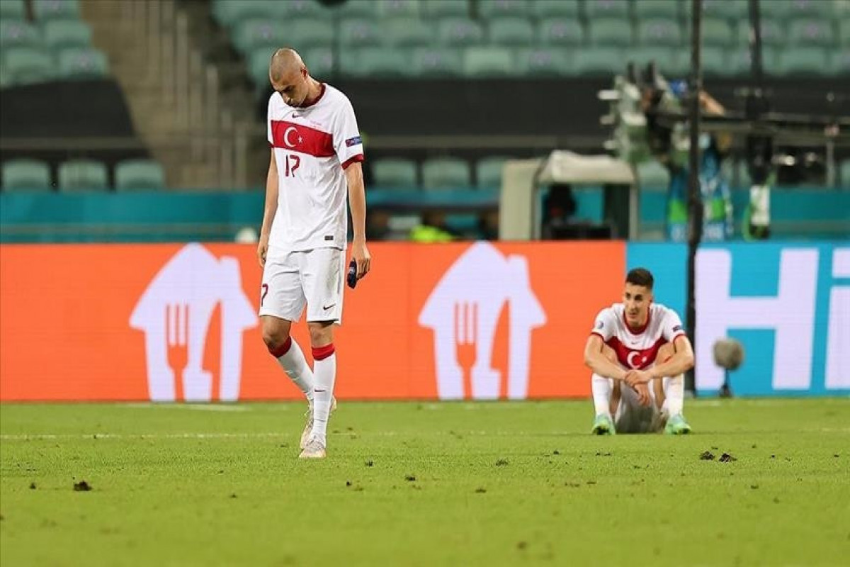 Turkey lose against Switzerland 3-1, out of EURO 2020