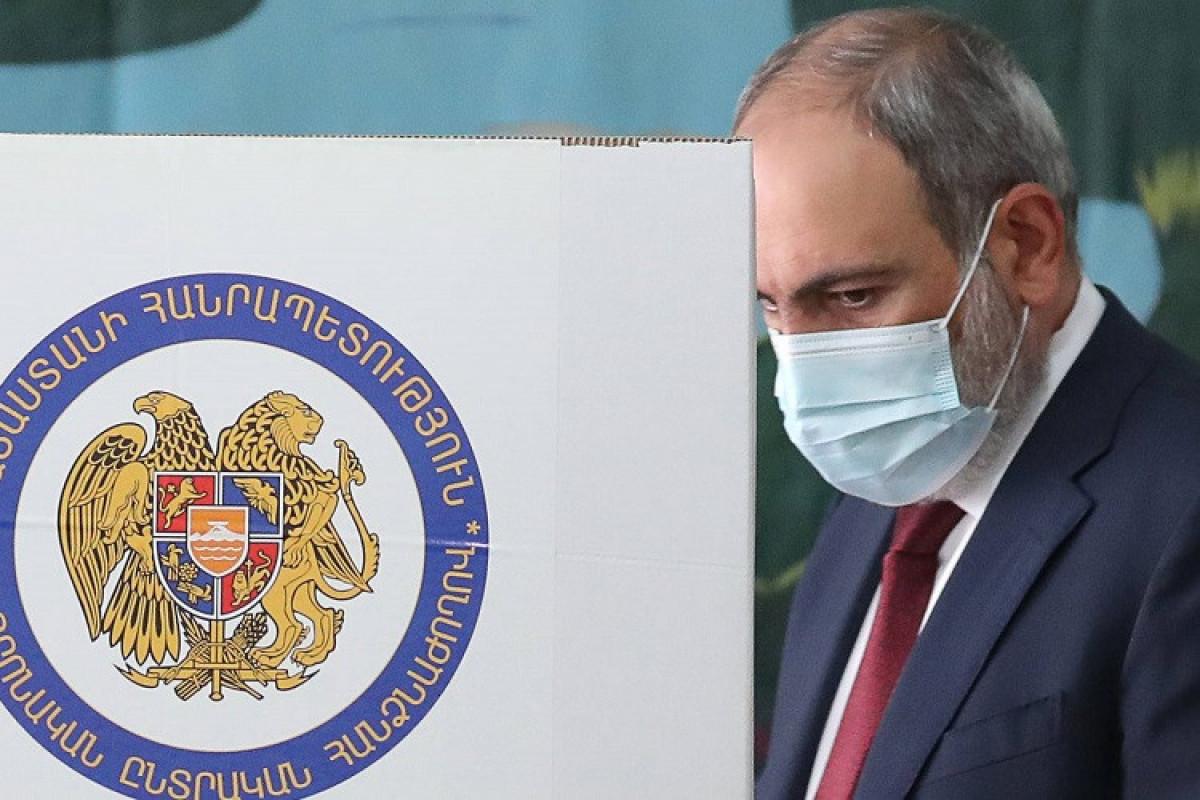 ЦИК Армении: партия Пашиняна лидирует на выборах в  с 58,04%