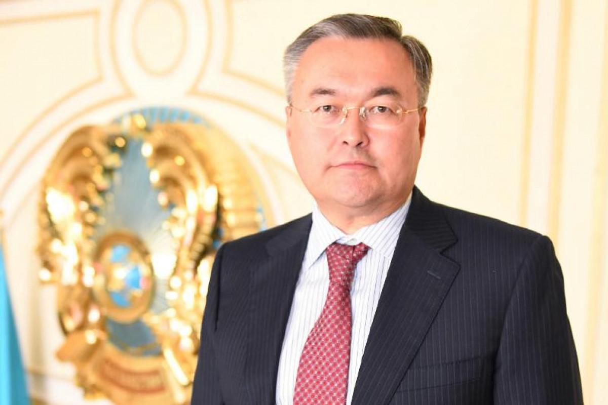 Глава МИД Казахстана прибыл с визитом в Азербайджан