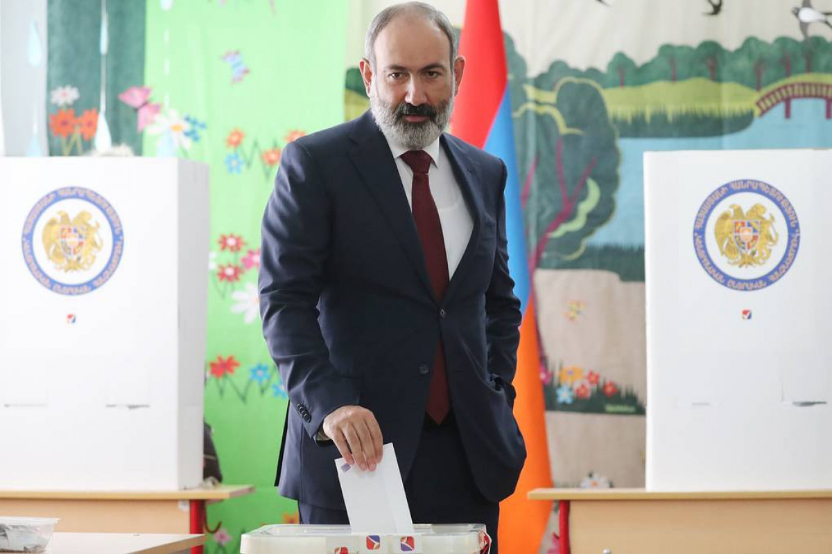 Партии Пашиняна не хватило на выборах 0,08% голосов для формирования правительства