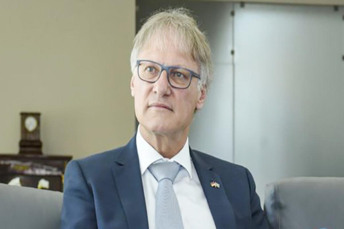 "German ambassador: ""Everything was destroyed in Karabakh over past 30 years"""