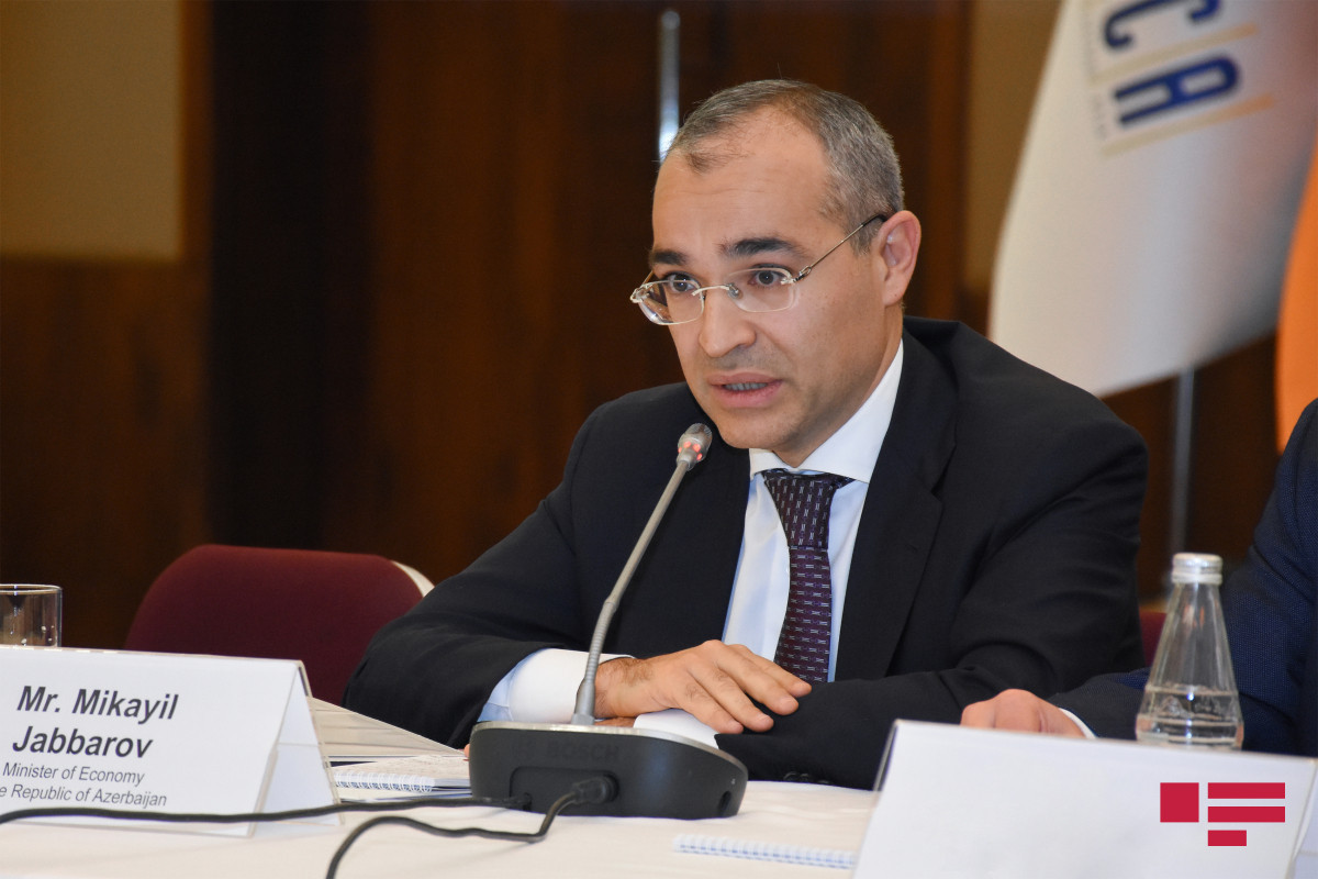 """Mikayil Jabbarov: """"Tax revenues of the state budget reached 127.1% of the forecast"""""""
