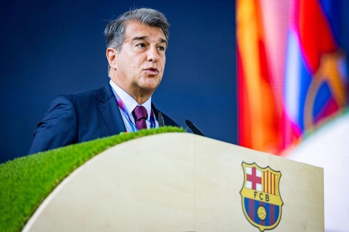 """""""Barselona""""nın prezidenti: """"Superliqa layihəsi davam edir"""""""