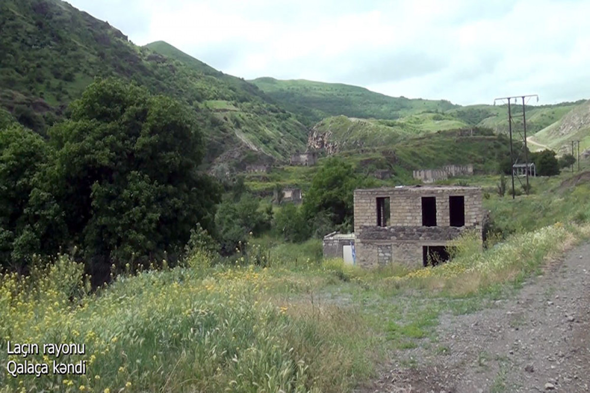 """Azerbaijani MoD releases video footage of the Galacha village of the Lachin region-<span class=""""red_color"""">VIDEO</span>"""