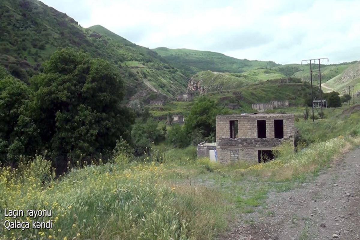"""Село Галача Лачинского района-<span class=""""red_color"""">ВИДЕО"""