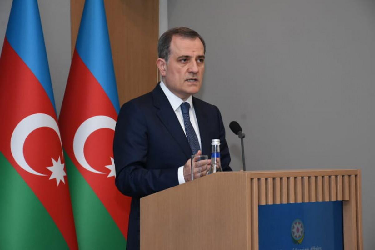 """Ceyhun Bayramov: """"Azərbaycan-Qazaxıstan münasibətləri dinamik inkişaf edir"""""""