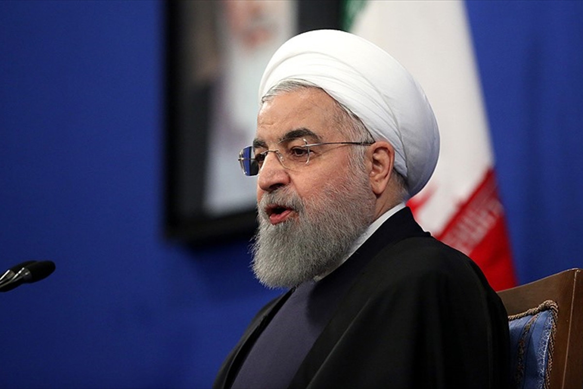 """Rouhani: """"Significant positive change to be occurred in Iranian-Azerbaijani border"""""""
