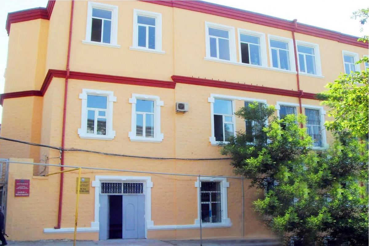В Баку приостановлена работа средней школы