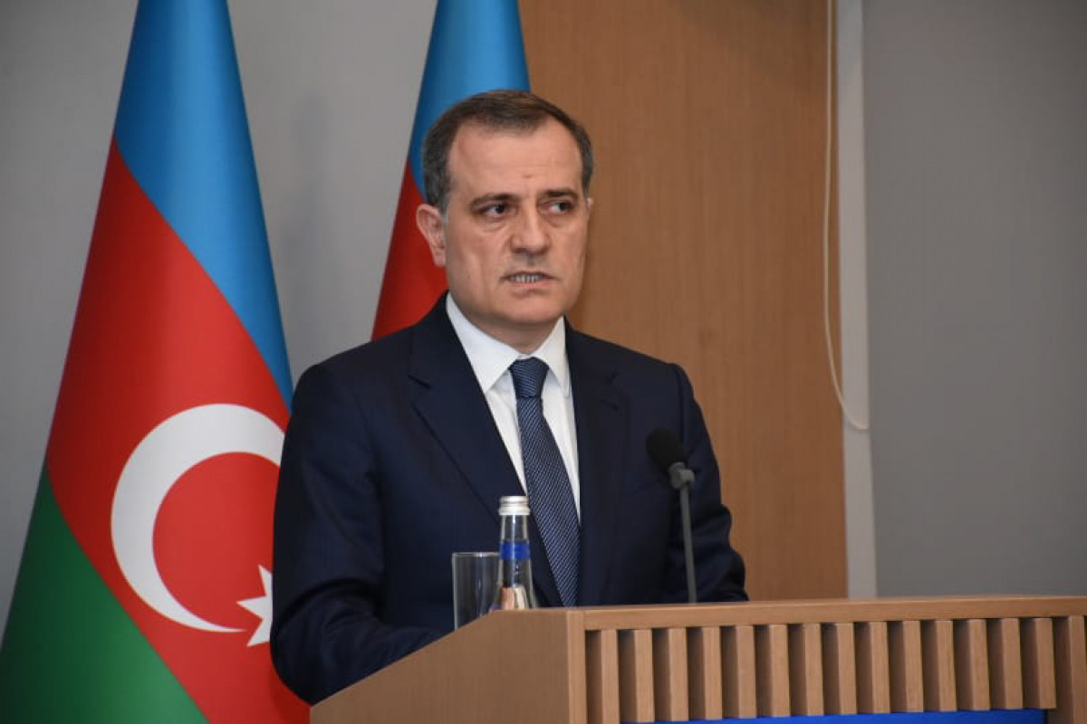 """Azerbaijani FM: """"Implementation of some articles of trilateral statements regarding Karabakh delays"""""""