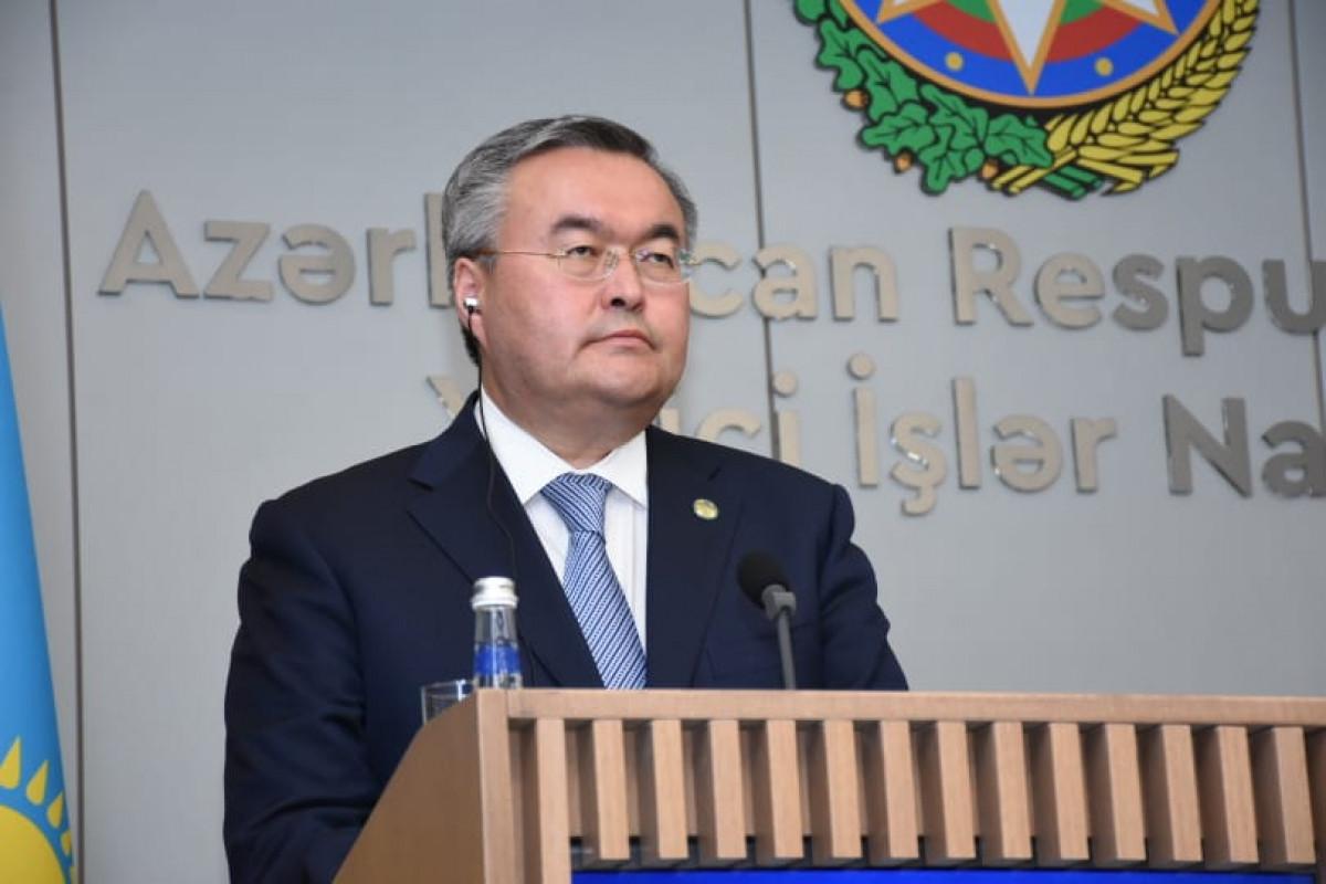 """Baş nazirin müavini: """"Azərbaycan Qafqaz və Xəzər regionunda Qazaxıstanın əsas ticarət tərəfdaşıdır"""""""