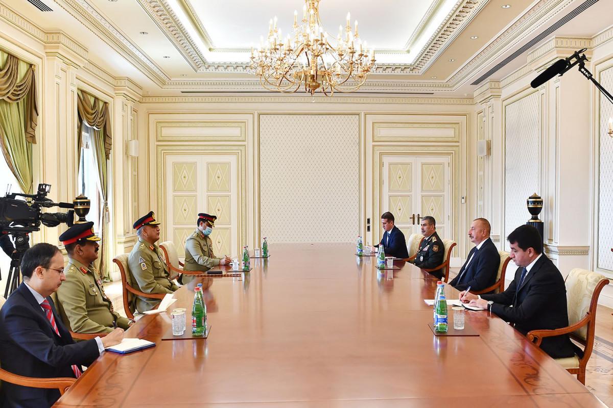 """Prezident İlham Əliyev: """"Qarşıdakı illərdə biz Pakistanla hərbi əməkdaşlığımızı genişləndirməliyik"""""""