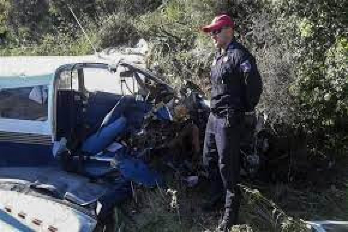 Two dead in mainland Greece small plane crash