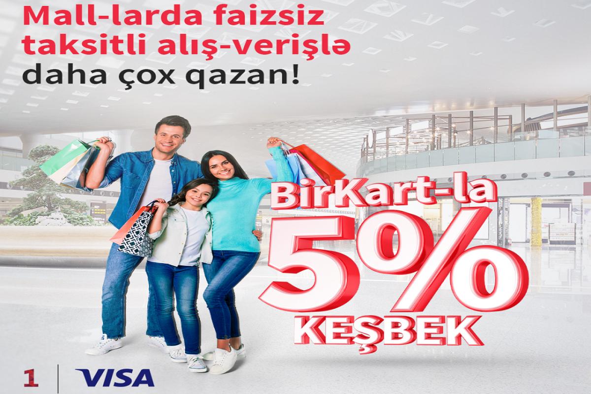 """""""BirKart"""" sahibləri alış-veriş mərkəzlərində daha çox qazanacaqlar"""