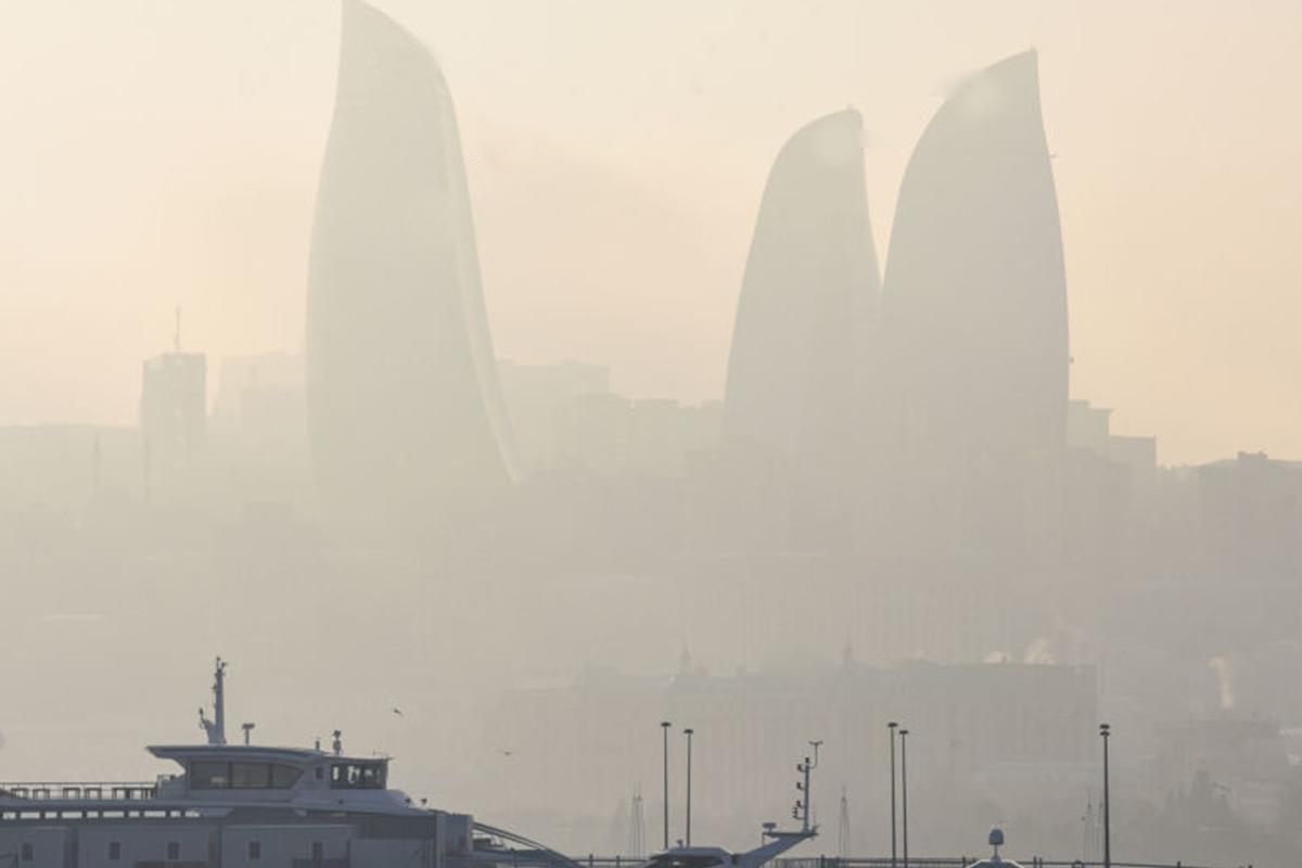 ETSN: Havada toz dumanı davam edir