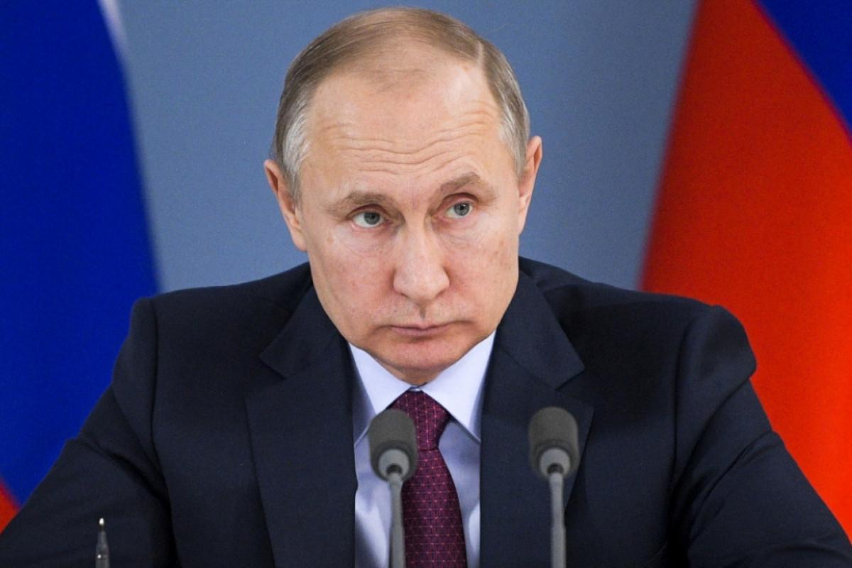 """Putin: """"Rusiyanın Avropa ilə ayrılmaz mədəni və tarixi bağlılığının fərqindəyik"""""""