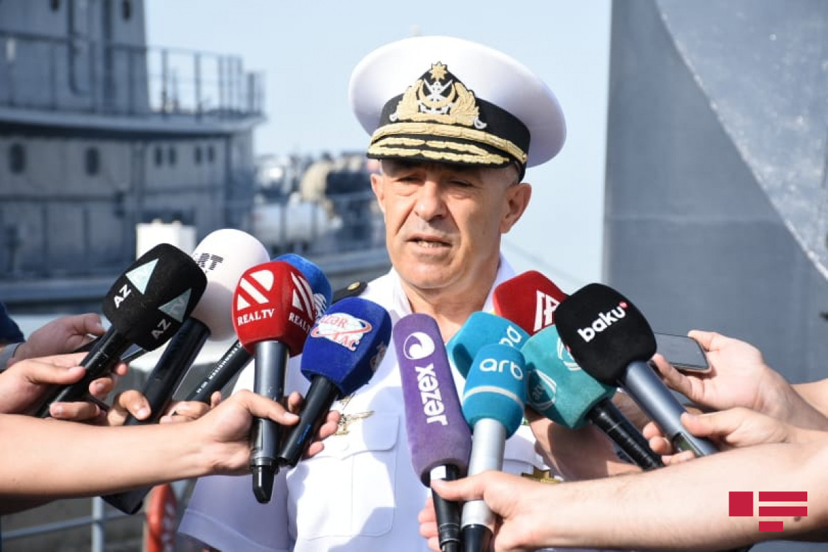 """Commander of the Naval Forces: """"Caspian's security is protected at a high level"""""""