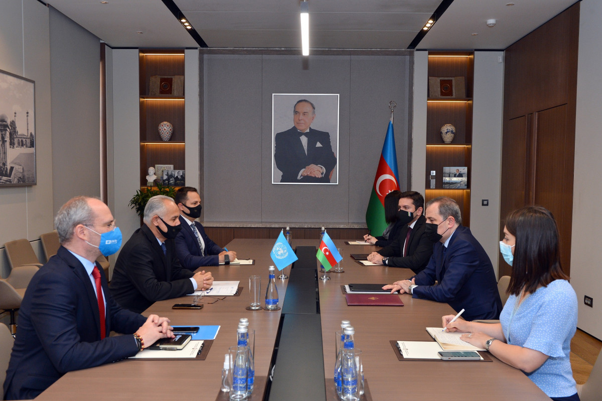 """Nazir: """"Azərbaycan UNESCO və BMT QAK-ın missiyalarını qəbul etməyə hazırdır, hər iki təşkilatdan cavab gözləyirik"""""""