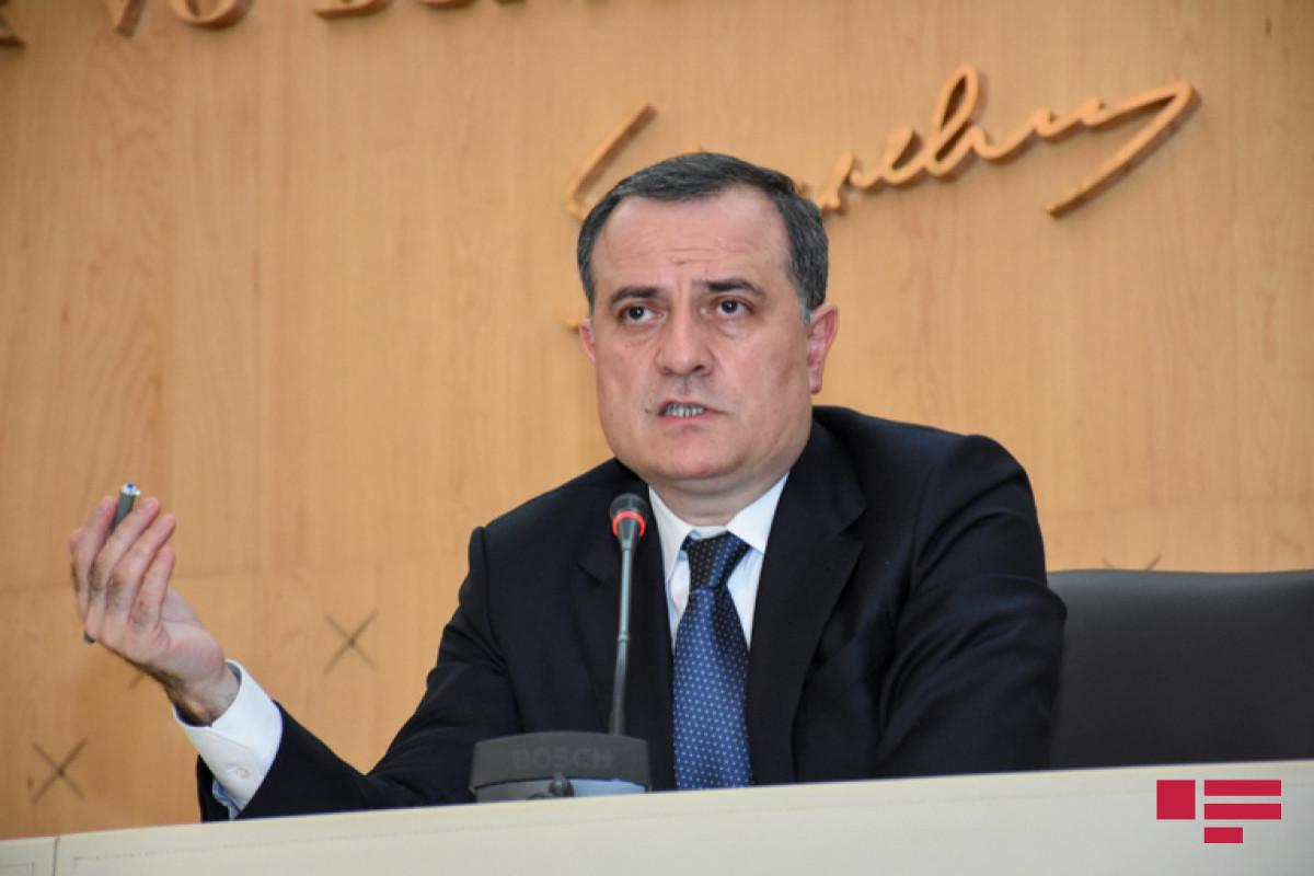 Azerbaijani FM says Baku is ready to work with Yerevan for a peace agreement