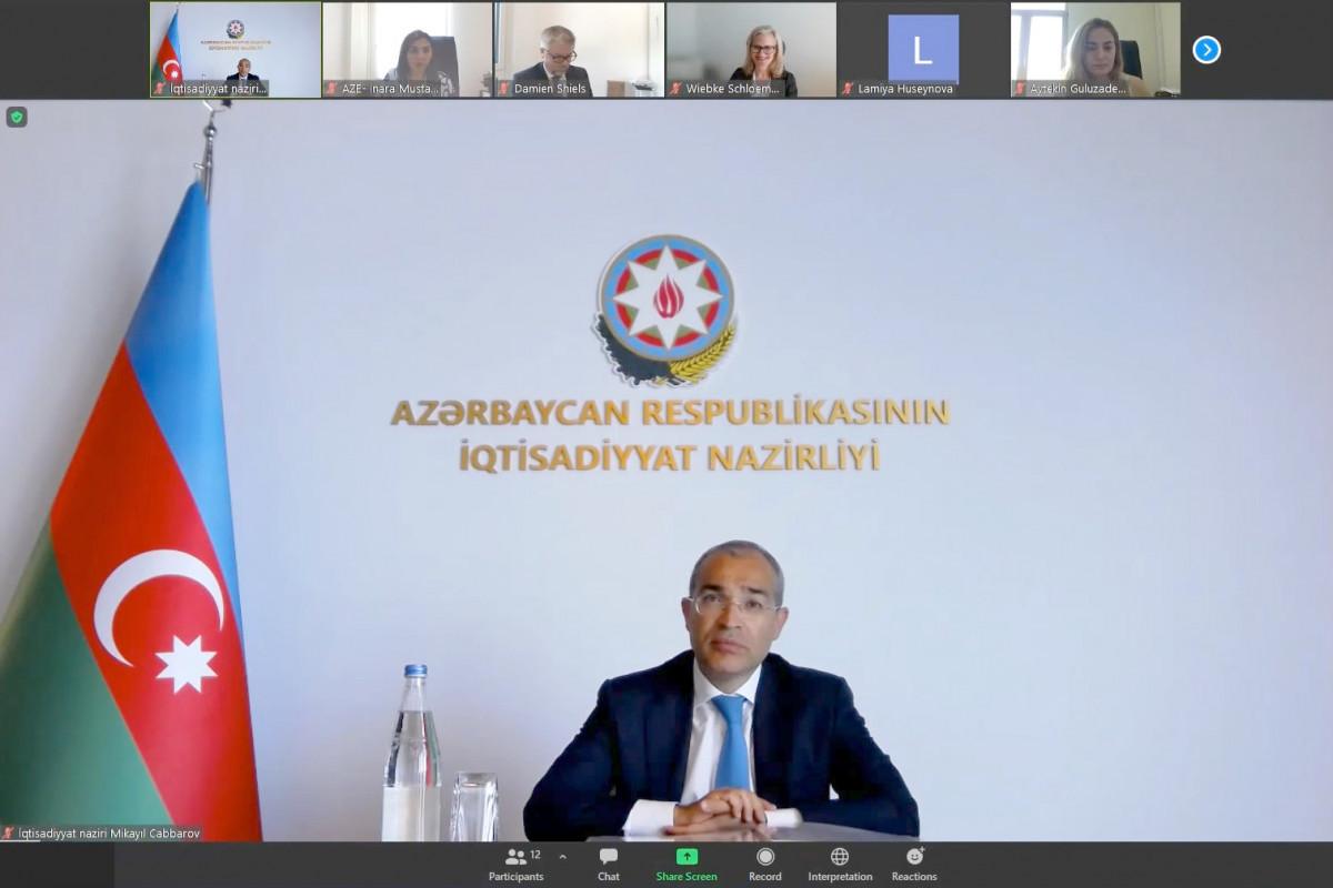 Azerbaijani Economy minister discuss prospects of cooperation with IFC Regional Director