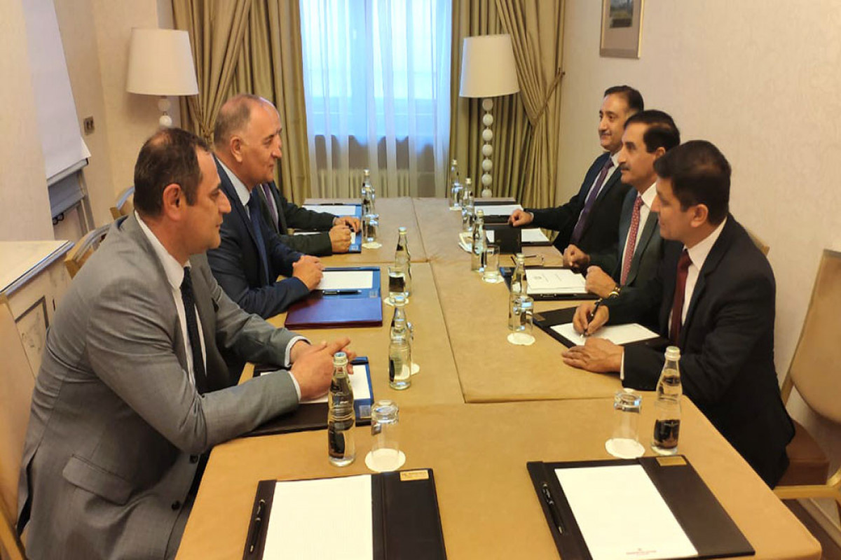 A meeting of the Azerbaijani and Pakistani military delegations was held