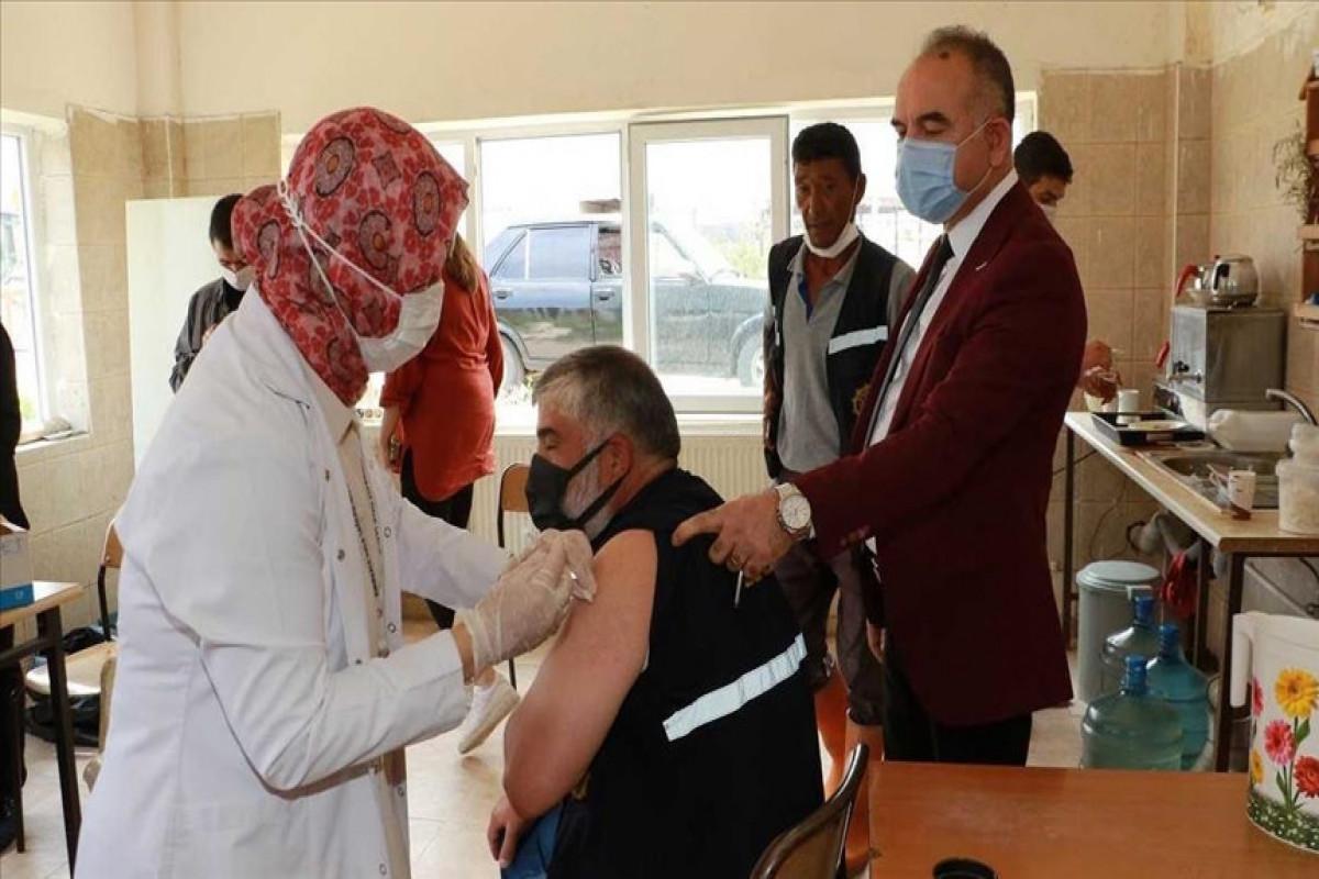 Turkey administers nearly 1M coronavirus vaccine shots in 24 hours