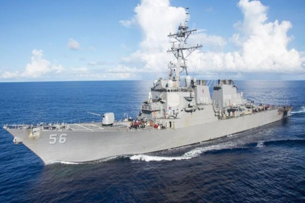 Китай выразил протест США из-за прохода американского эсминца через Тайваньский пролив