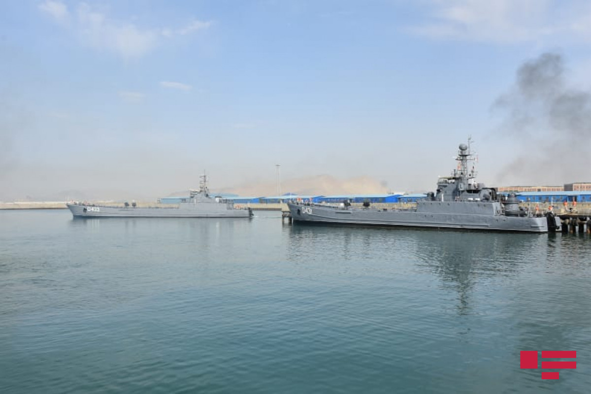 Second stage of tactical exercises started by Military Naval Forces