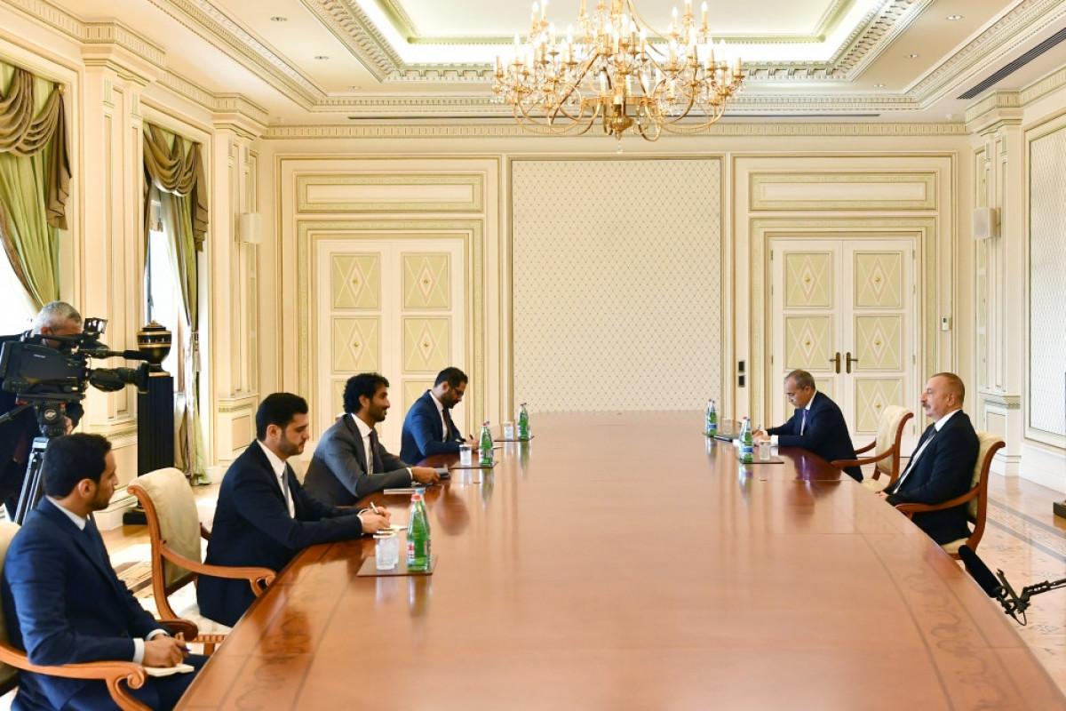 President Ilham Aliyev received United Arab Emirates minister of economy