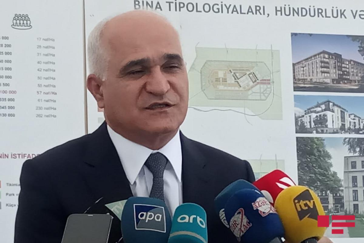 """Şahin Mustafayev: """"İşğaldan azad olunmuş ərazilərdə 2 milyard kubmetr su ehtiyatı var"""""""
