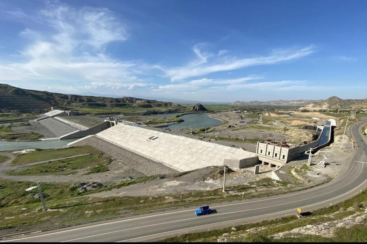 Azərbaycan Araz çayı üzərindəki Qız qalası su anbarından kanal çəkməyi planlaşdırır