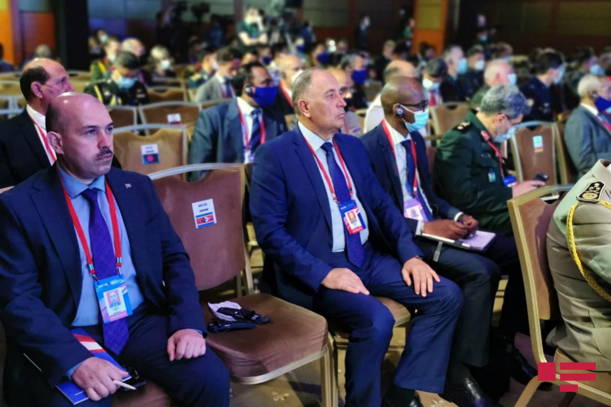 """Azərbaycan nümayəndə heyəti IX Moskva Beynəlxalq Təhlükəsizlik Konfransında iştirak edir - <span class=""""red_color"""">FOTO</span>"""